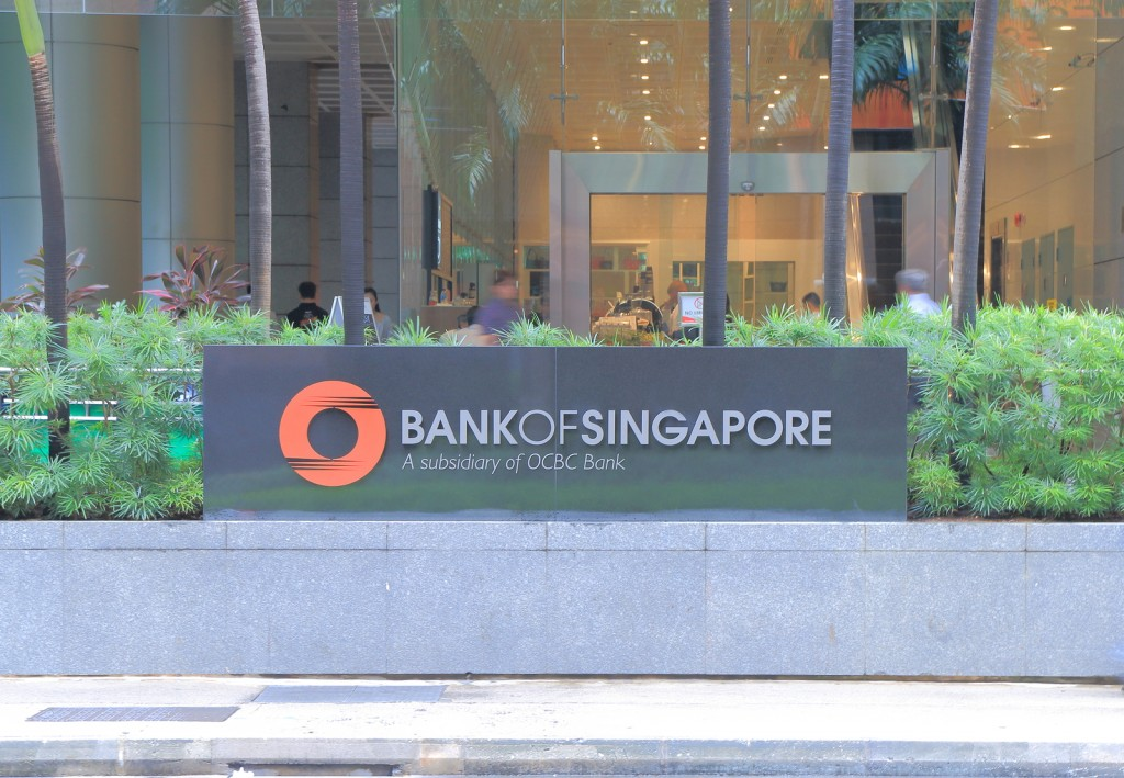 SINGAPORE - 27 May, 2014:Bank of Singapore. Bank of Singapore is a Singapore based private banking arm of OCBC Bank. Formally know as ING Asia Private Bank.