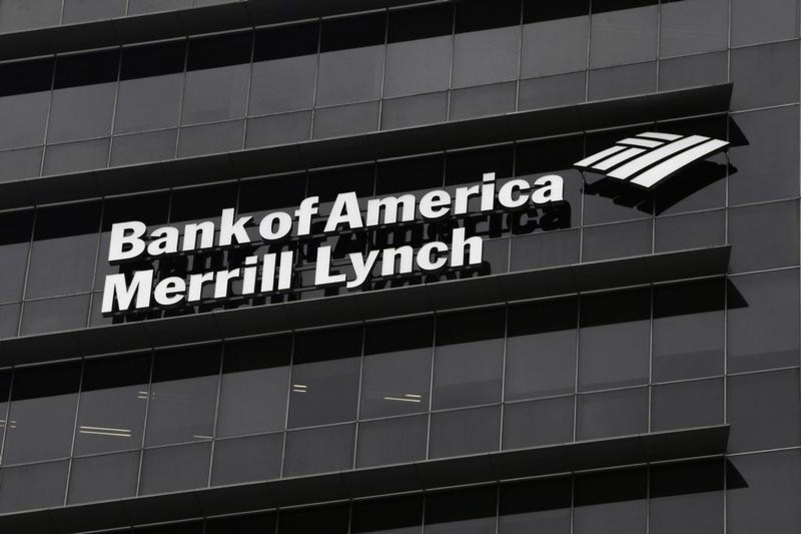 Bank of America Merrill Lynch Building Logo