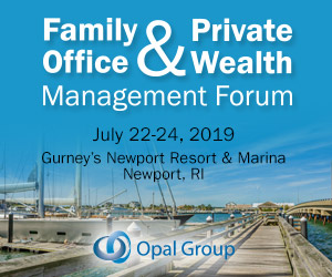 Family Office & Private Wealth Management Forum New Port 2019 July 300x250