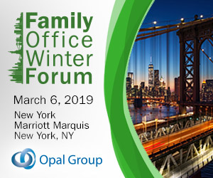 Family Office Winter Forum New York 2019 March 300x250