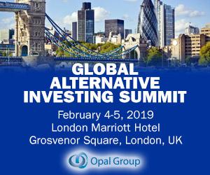 Global Alternative Investing Summit London 2019 February 300x250