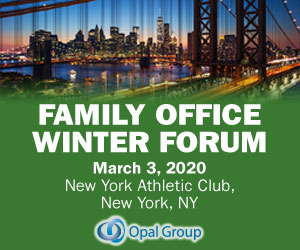Family Office Winter Forum New York 2020 March 300x250