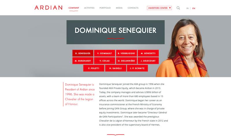 Ardian Website