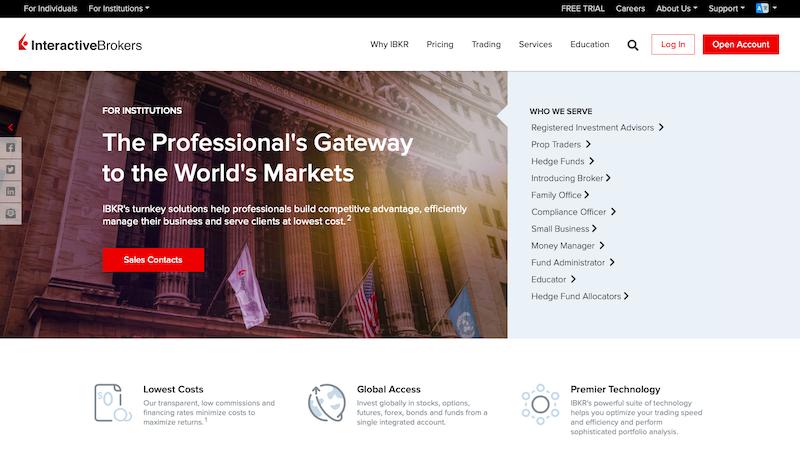 Interactive Brokers Website