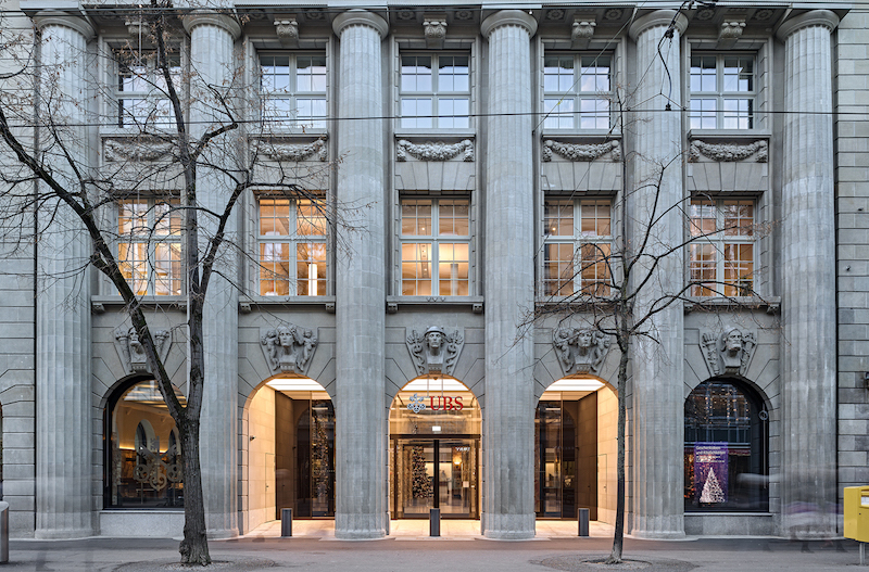 UBS Zurich Headquarters
