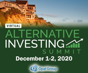 Alternative Investment Summit 2020 December 300x250