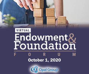 Endowment & Foundation Forum 2020 October 300x250