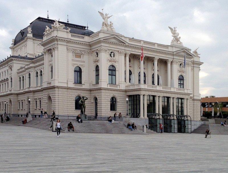 Zurich Opera House Switzerland