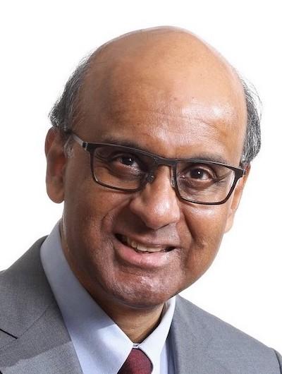 Chairman MAS Board Tharman Shanmugaratnam Headshot