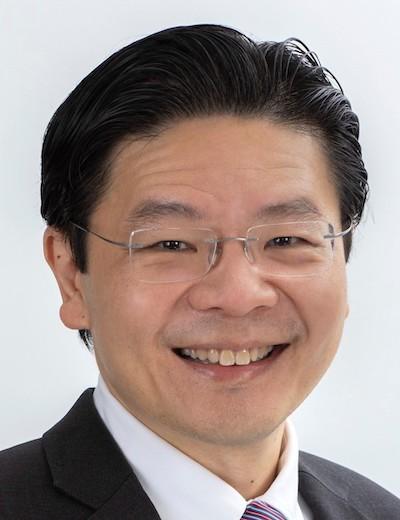 Deputy Chairman Of The MAS Board Lawrence Wong Headshot