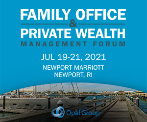 Family Office & Private Wealth Management Forum 2021 300x250