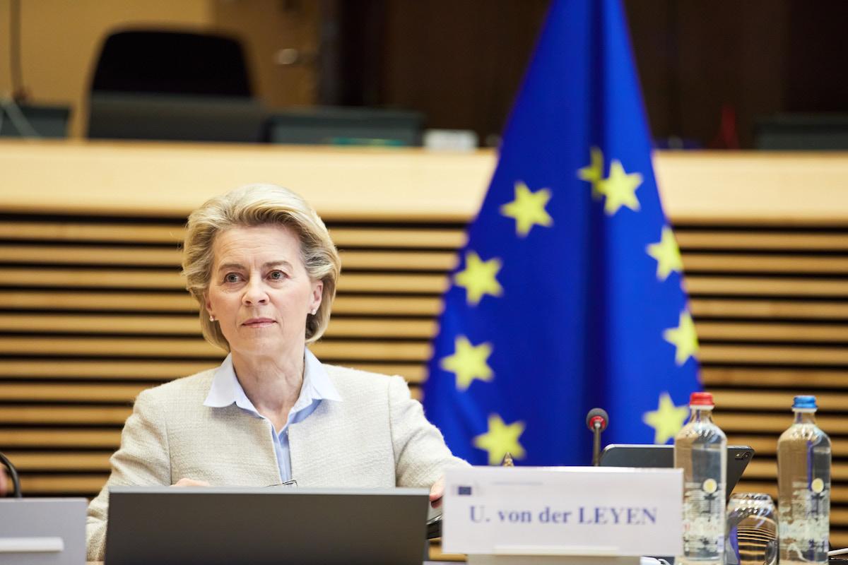 President Of European Commission Ursula Von Der Leyen 2