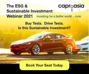 The ESG & Sustainable Investment Webinar 2021 Tesla 300x250