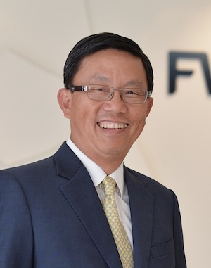 FWD Group CEO Huynh Thanh Phong OBE