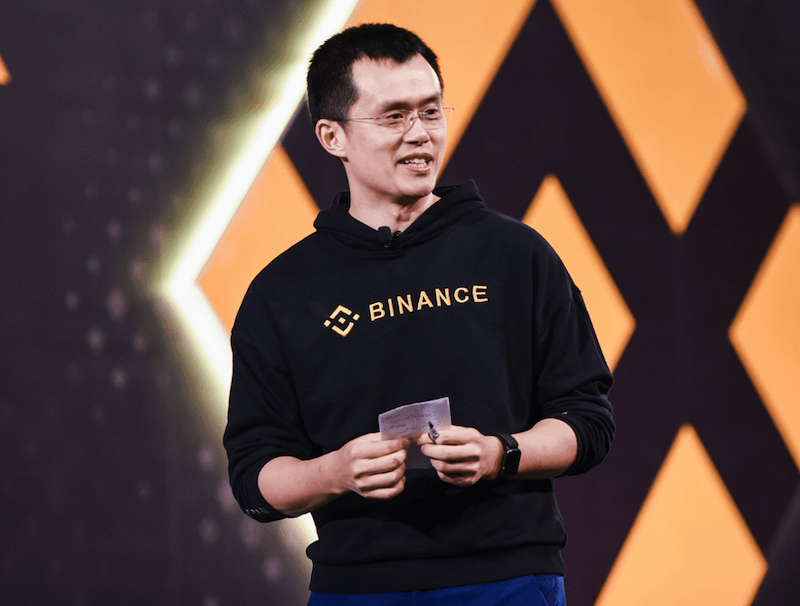 CZ Changpeng Zhao Binance CEO And Founder