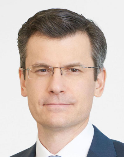 Mark Haefele Chief Investment Officer At UBS Global Wealth Management Headshot